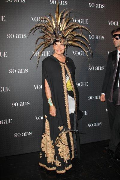 Знаменитости на 90-летии французского Vogue (28 фото)
