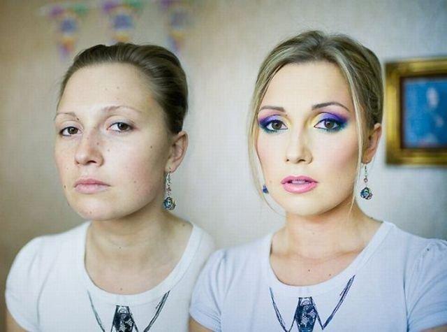 Чудеса макияжа (10 фото)