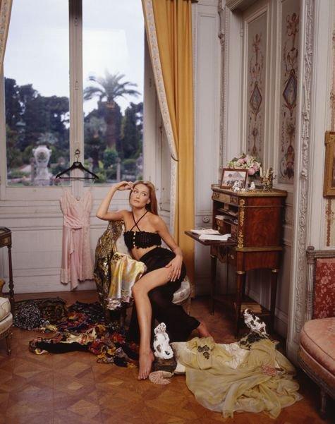 Carla Bruni в 1995 году (8 фото)