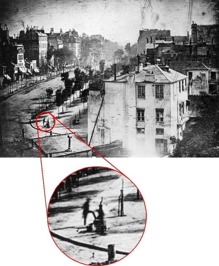 Первая фотография в истории (2 фото)