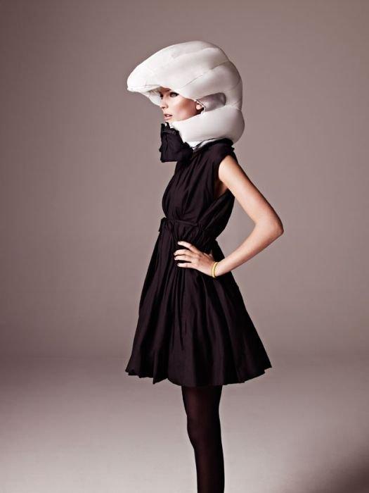 Надувной велосипедный шлем (9 фото)