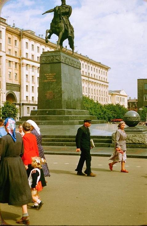 Москва в 1956 году (17 фото)