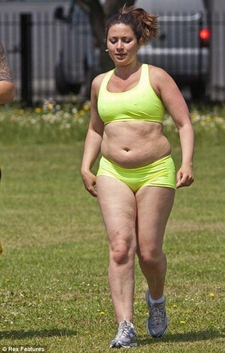 Серьезно похудела за 4 месяца (10 фото)