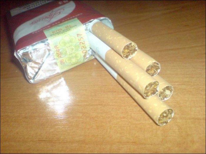 Отличные сигареты (2 фото)