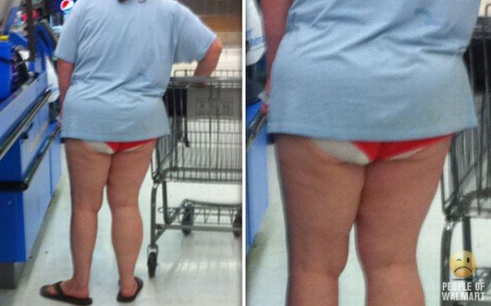 Смешные люди в супермаркетах Wallmart (94 фото)