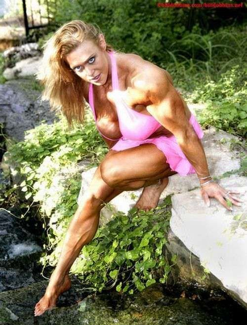 Мускулистые девушки (39 фото)