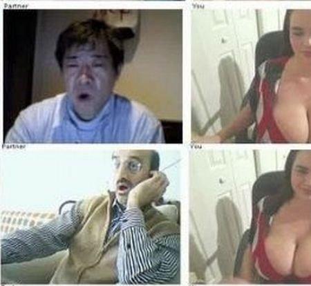 Реакция на большую грудь (16 фото)