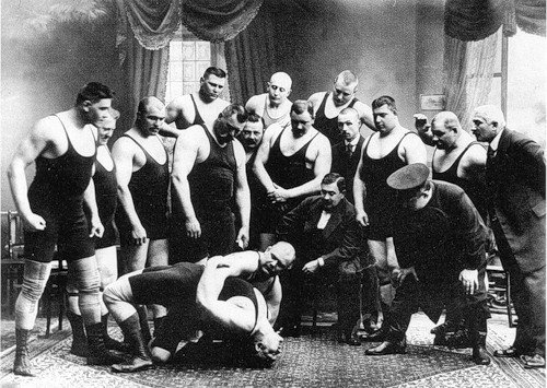Спорт в дореволюционной России (12 фото)