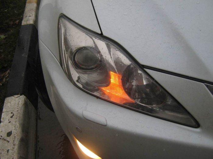 Разбили машину, за не пропущенную мигалку (6 фото + текст)