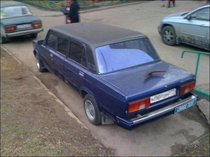 Лимузины по-русски (41 фото)