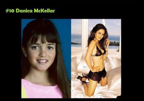 Знаменитые девочки, которые выросли и похорошели (10 фото)