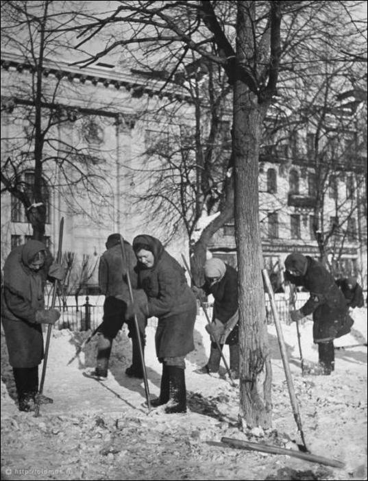 Зима в Советском Союзе (27 фото)