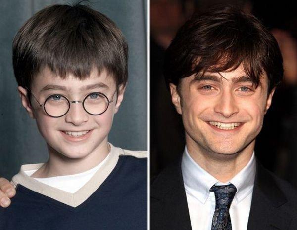 Гарри Поттери и его друзья тогда и сейчас (8 фото)