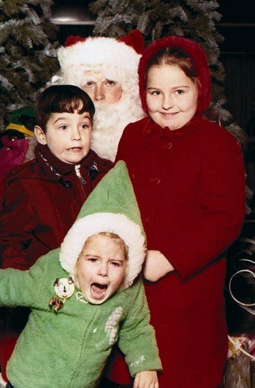 Дети боятся Санту (13 фото)