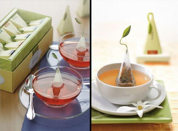 Необычные чайные пакетики (21 фото)