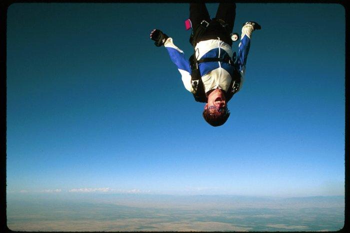 инструкция на случай падения без парашюта