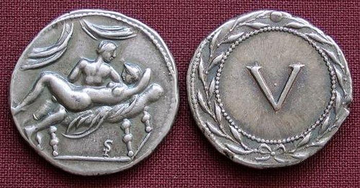 Монеты Древнего Рима (10 фото)