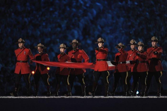 Открытие Олимпиады в Ванкувере (30 фото)