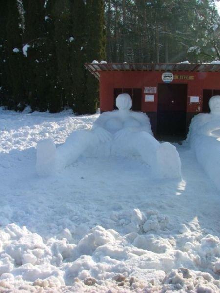 Снеговики (6 фото)