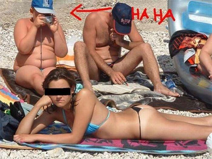 Секс молодой на пляже видео меня