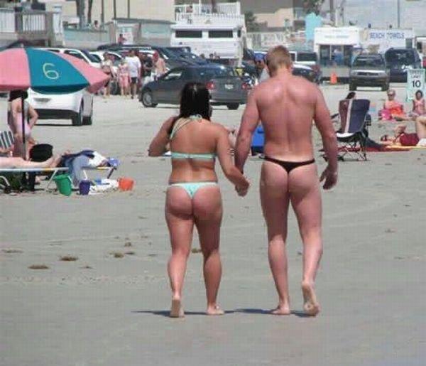 Забавные фотографии с пляжа (55 фото)