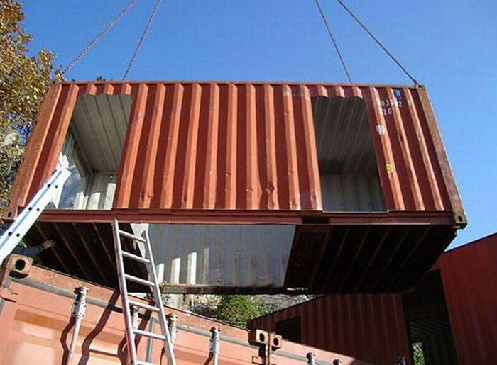 Дом из контейнеров (15 фото)