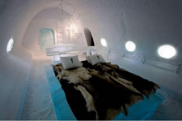 Ледяной отель (12 фото)