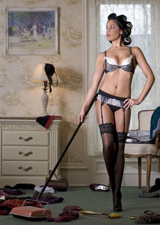 Сексуальные домохозяйки (34 фото)