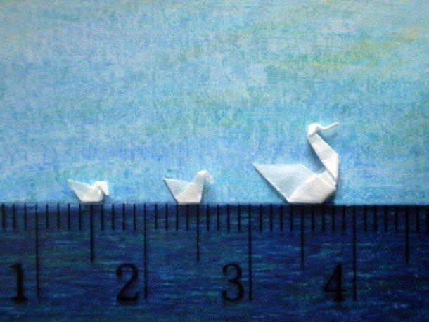 Самое маленькое оригами (13 фото)