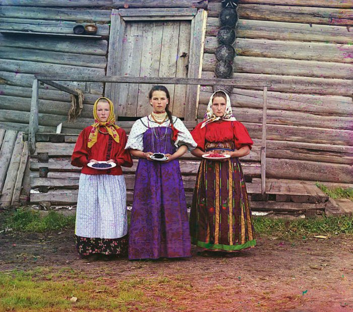 Цветные фотографии Российской Империи (53 фото)