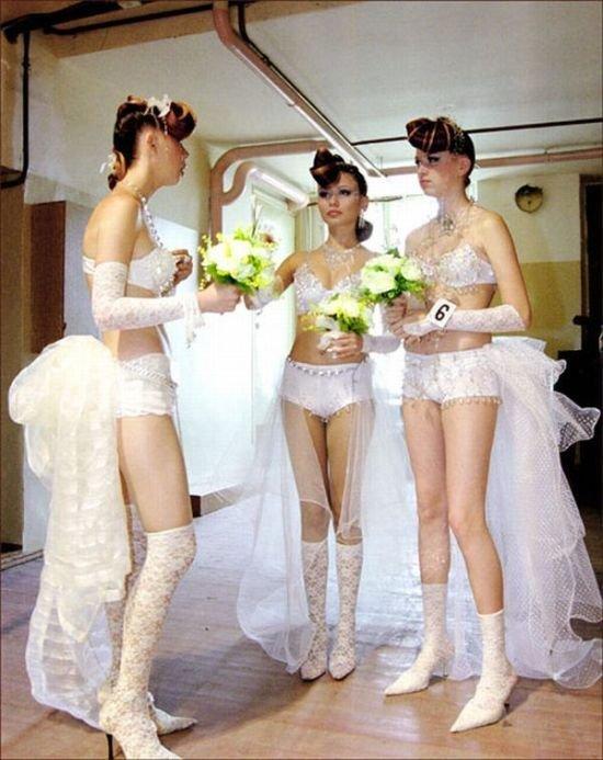 Откровенные фотографии невест (86 фото)