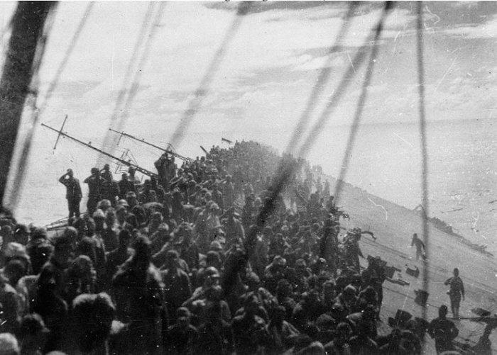Batallas navales - Segunda Guerra Mundial