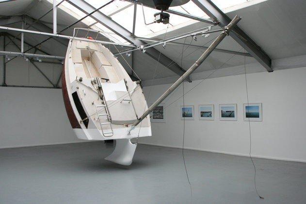 Необычная яхта (7 фото)