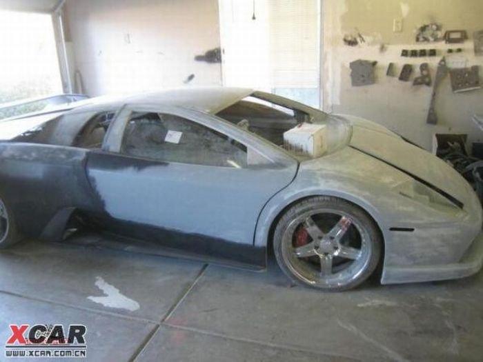 Lamborghini своими руками (35 фото)
