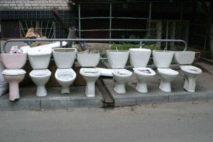 Подборка туалетных приколов (99 фото)
