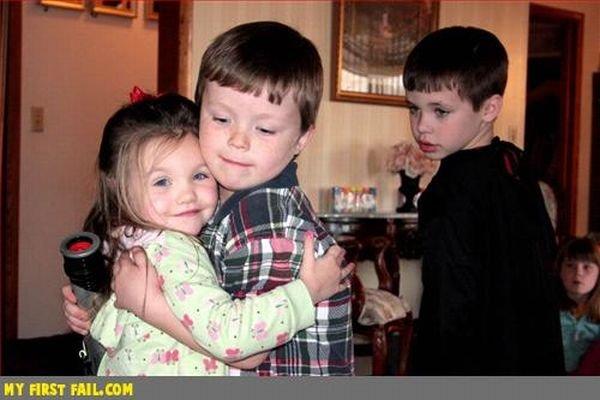 Прикольные фотографии детей (80 фото)