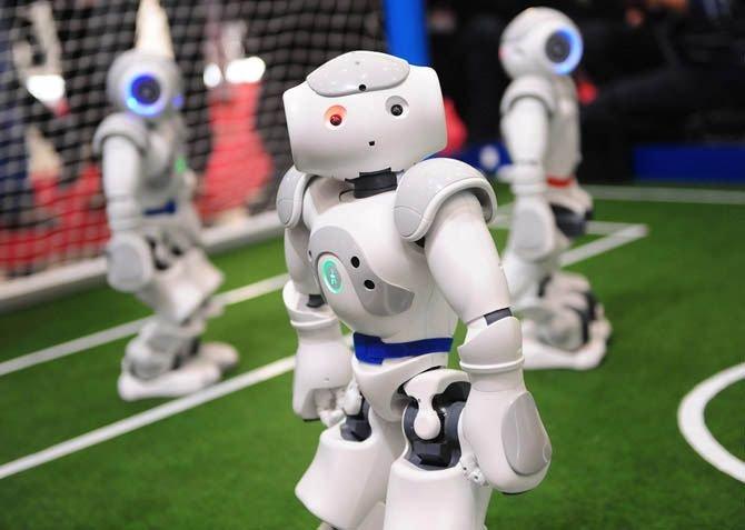 Современные роботы (33 фото + текст)