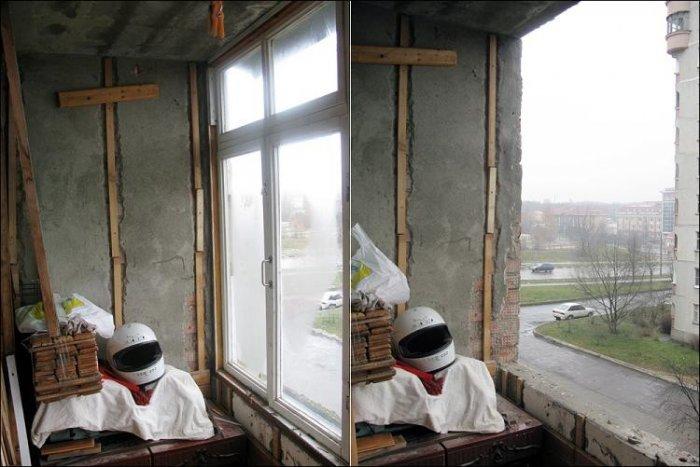 Преобразование балкона (19 фото)