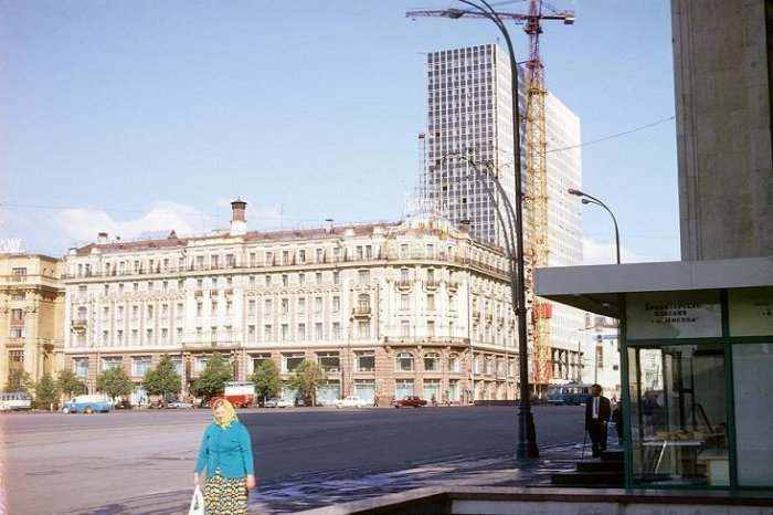 Москва 1968 года (15 фото)
