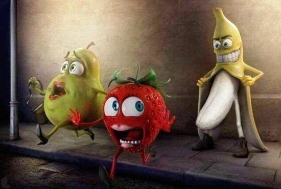 Креатив с фруктами и овощами (17 фото)