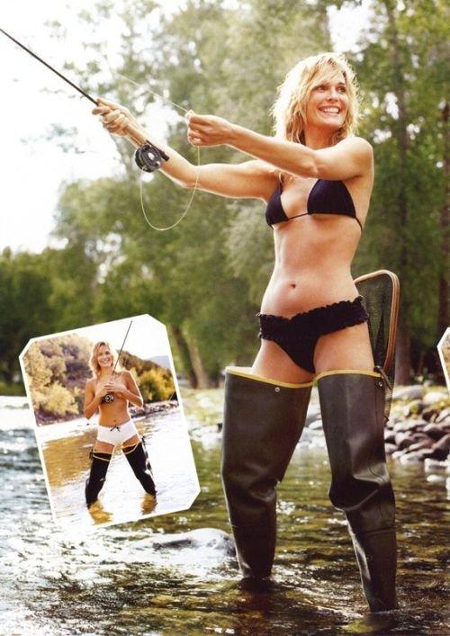 Ссылка на Девушки на рыбалке для отправки друзьям по ICQ и MSN.