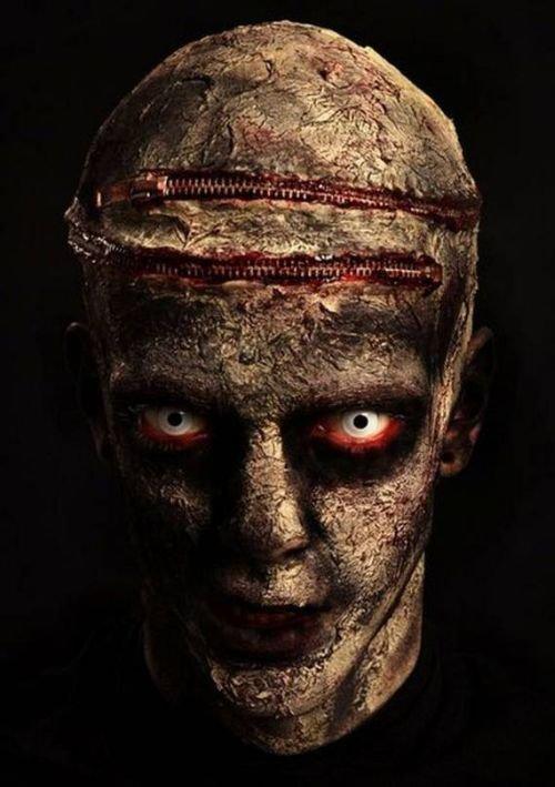 Страшные костюмы зомби (12 фото)