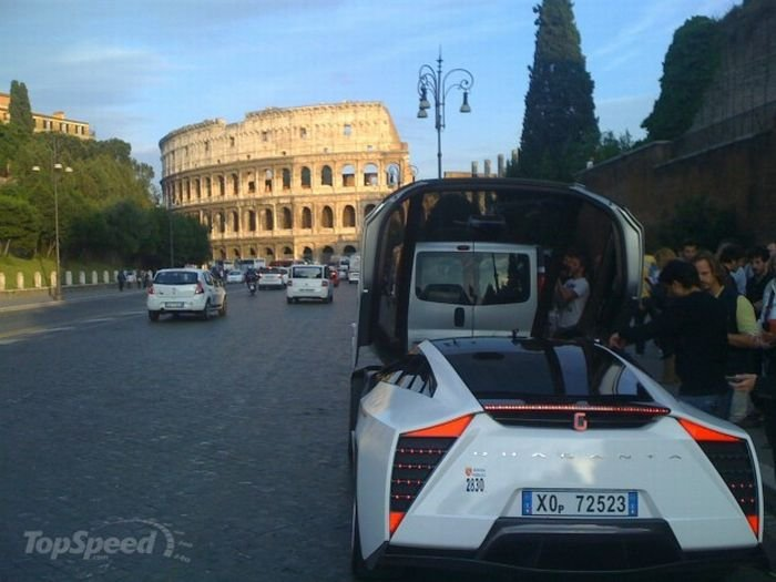 Такси-суперкар (20 фото)