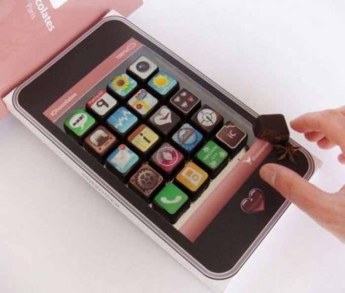 Шоколадный Айфон (3 фото)