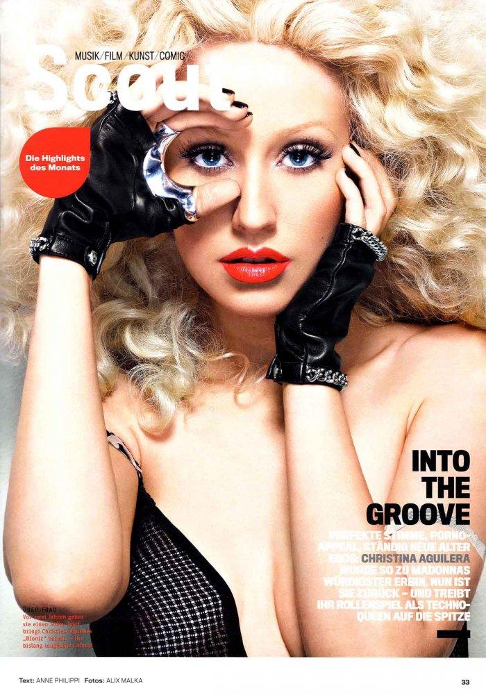 Christina Aguilera для немецкого GQ (6 фото)