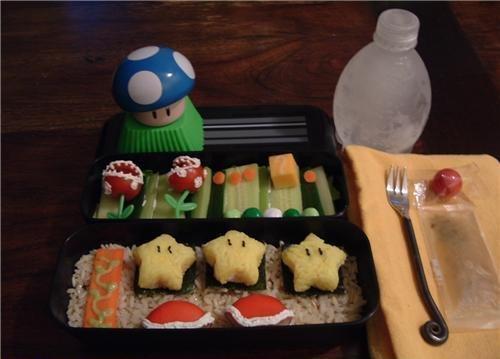 Креатив с едой (47 фото)