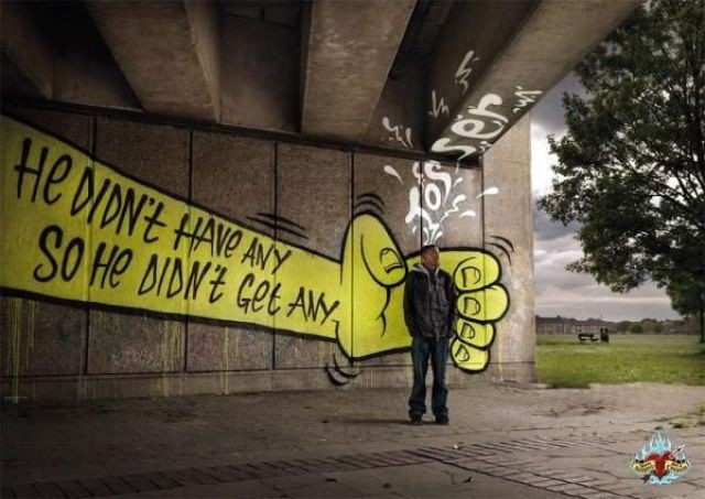 Подборка креативной рекламы (55 фото)