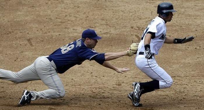Забавные спортивные фотографии (55 фото)