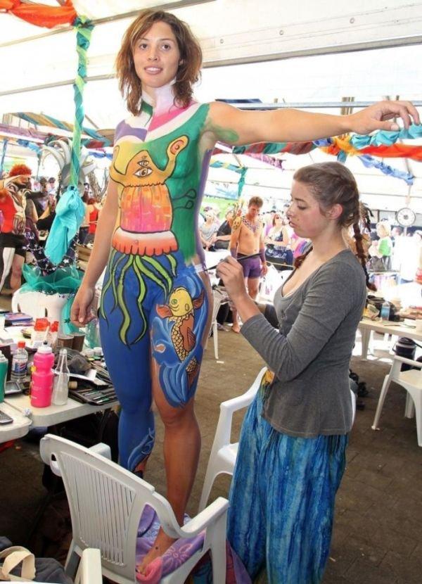 Фестиваль бодиарта в Австралии (24 фото)