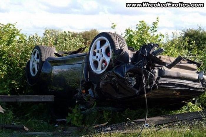 Аварии суперкаров (15 фото)